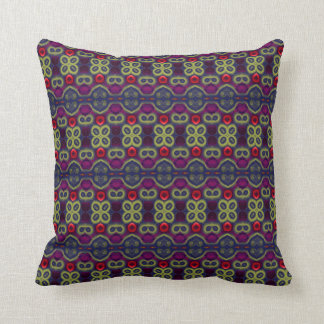 Exotic Jewel Tones Pillow