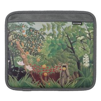 Exotic Landscape, 1910 iPad Sleeves