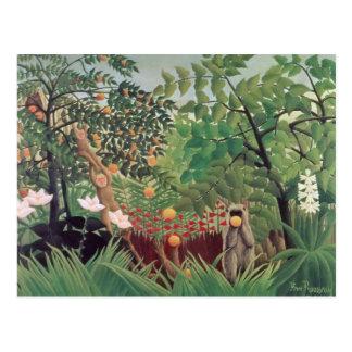 Exotic Landscape, 1910 Postcard