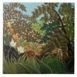 Exotic landscape tile