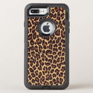 Exotic Leopard Print OtterBox Defender iPhone 8 Plus/7 Plus Case