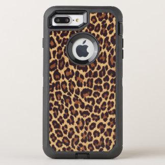 Exotic Leopard Print OtterBox Defender iPhone 8 Plus/7 Plus Case