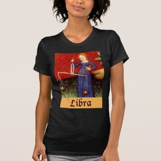 Exotic Libra Zodiac Sign T-Shirt