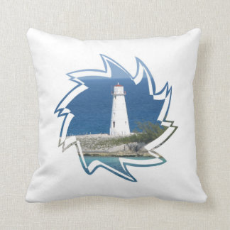 Exotic Lighthouse Pillow