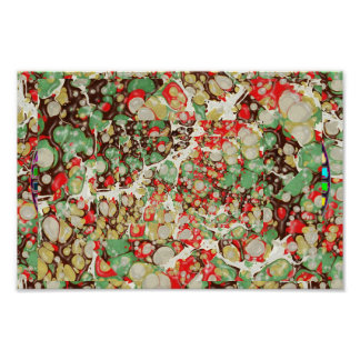 Exotic MARBLE Stone Spread Poster