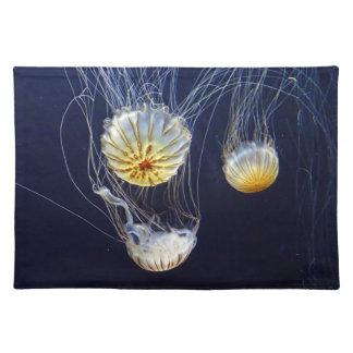 Exotic Marine Salt Water Jellyfish Placemat