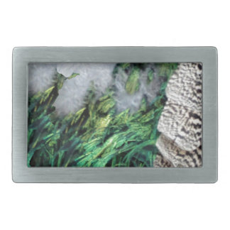 Exotic New Growth Belt Buckle