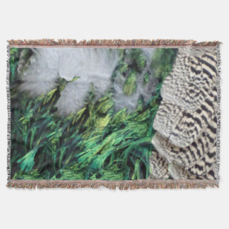 Exotic New Growth Throw Blanket