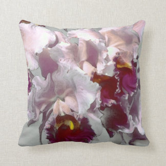 Exotic Orchid, pillow Throw Cushion