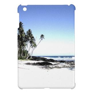 Exotic Palm Trees & Paradise Beach iPad Mini Cover