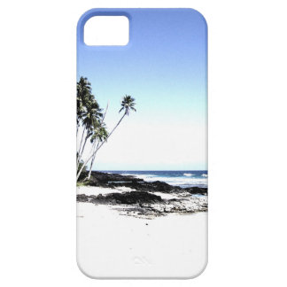 Exotic Palm Trees & Paradise Beach iPhone 5 Case