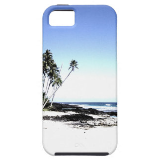Exotic Palm Trees & Paradise Beach iPhone 5 Cover