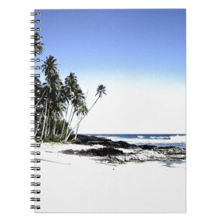 Exotic Palm Trees & Paradise Beach Notebook