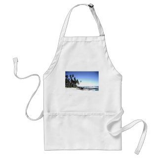 Exotic Palm Trees & Paradise Beach Standard Apron