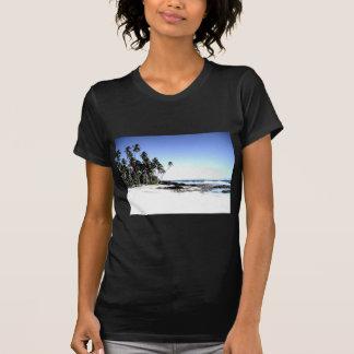 Exotic Palm Trees & Paradise Beach T-Shirt