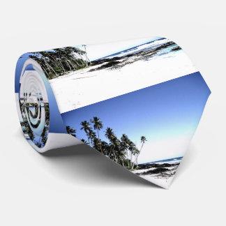 Exotic Palm Trees & Paradise Beach Tie