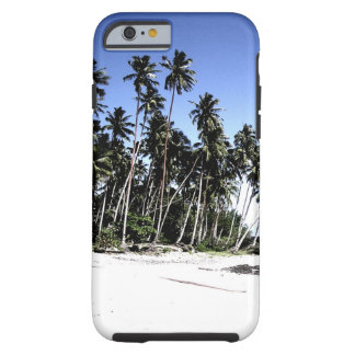 Exotic Palm Trees & Paradise Beach Tough iPhone 6 Case
