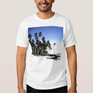 Exotic Palm Trees & Paradise Beach Tshirts