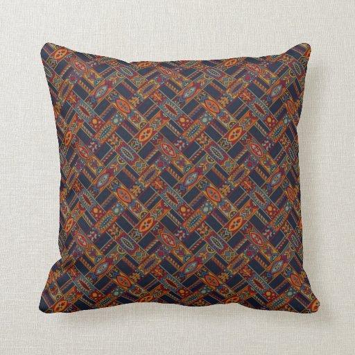 Exotic Pattern Throw Pillows