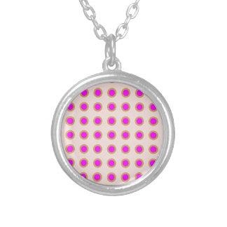 EXOTIC Pink Dot Matrix : Pattern Jewel Jewelry