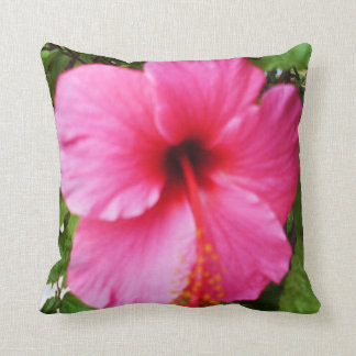 EXOTIC PINK FLOWER pillow