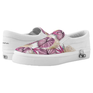 Exotic plants slip on shoes
