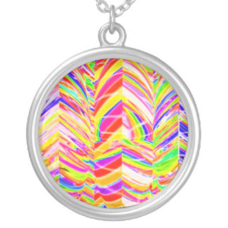 Exotic Rainbow Rock Patterns Jewelry