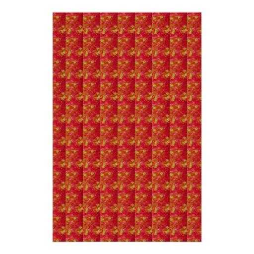 EXOTIC red taken from Flower: Art NAVIN JOSHI Stationery Paper