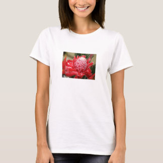 Exotic Red Torch Ginger flower Tank top