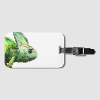 Exotic Reptile Luggage Tag