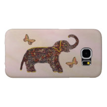 Exotic Rose Elephant Samsung Galaxy S6 Cases