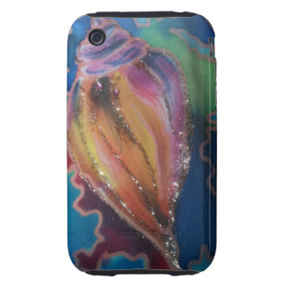 Exotic Seashell I-phone cover Tough iPhone 3 Case