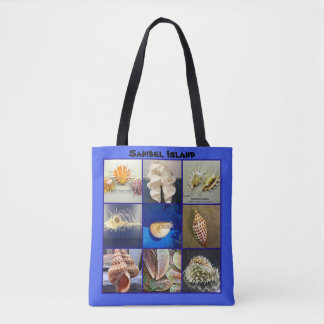 Exotic SeaShell Photography Sanibel Island Florida Tote Bag
