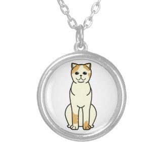 Exotic Shorthair Cat Cartoon Necklace