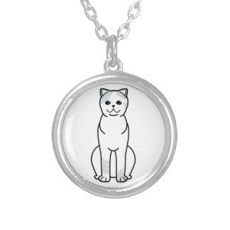 Exotic Shorthair Cat Cartoon Pendants
