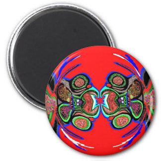 Exotic Spider Dance Fridge Magnets