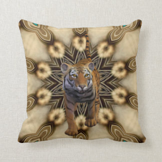 Exotic Tiger. Throw Cushion