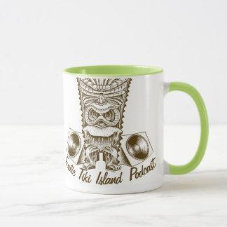 Exotic Tiki Island Podcast Mug