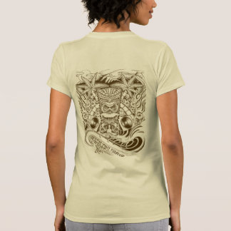 Exotic Tiki Island Podcast Womens Tee Shirt