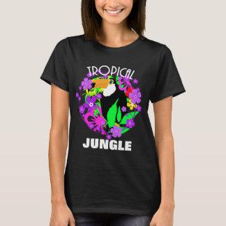 Exotic Toucan Bird Cute Tropical Jungle  Colorful T-Shirt