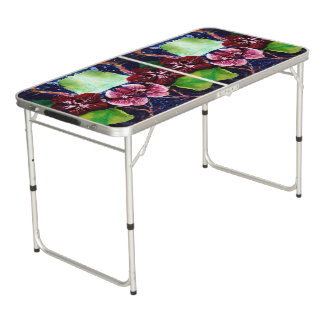 Exotic Tropical Design - Customize your Own Beer Pong Table