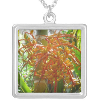 Exotic Tropical Flower Necklace