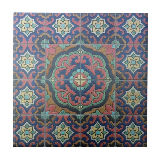 Exotic Vintage Tile Design