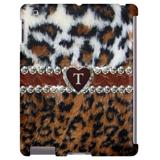 Exotic Wild Leopard Fur iPad Case