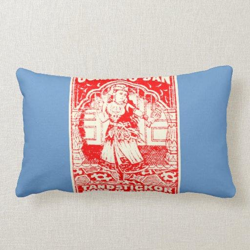 Exotic Woman Art bolster pillow