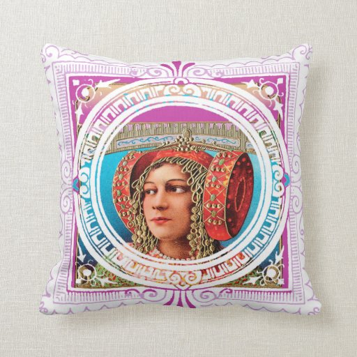 Exotic Woman Pillows