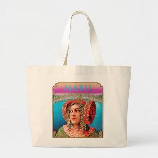 Exotic Woman Large Tote Bag