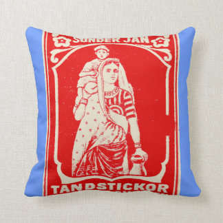 Exotic Woman Pillows
