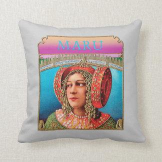 Exotic Woman throw pillow