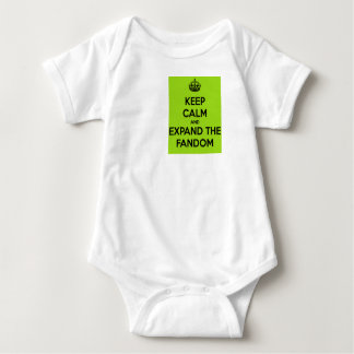 """""""Expand the Fandom"""" Baby Outfit. Baby Bodysuit"""